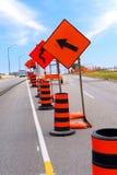 Construction de routes Image stock