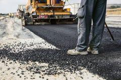 Construction de routes images libres de droits