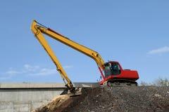 Construction de routes Images stock