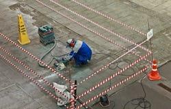 Construction de routes Photo stock