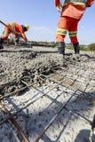 Construction de routes Photo libre de droits