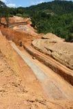 Construction de routes Photographie stock libre de droits