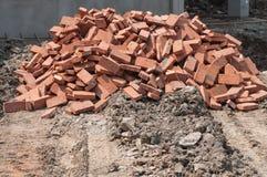 Construction de site Image stock