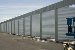 Construction de stockage Photo libre de droits