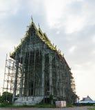 Construction de temple Photo stock