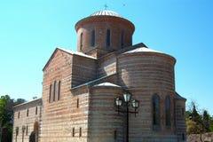 Construction de temple antique du 9ème siècle Image stock