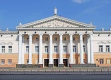 Construction de théâtre d'opéra, Ukraine Photographie stock