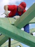 Construction de toit images stock