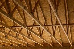 Construction de toit de botte Photographie stock libre de droits