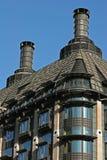 Construction de toit en métal Images stock