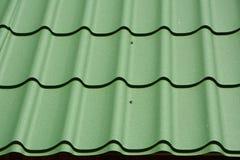 Construction de toit en métal Toiture en métal photo libre de droits