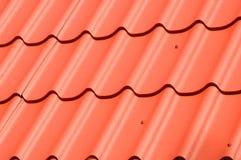 Construction de toit en métal Toiture en métal image stock