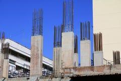 Construction de travail dans le lieu de travail de chantier Photographie stock libre de droits