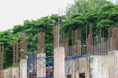 Construction de travail dans le lieu de travail de chantier Photo stock