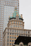 Construction de tête à New York City Image stock
