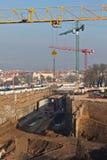 Construction de tunnel Photos libres de droits