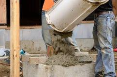 Construction de VA Image libre de droits