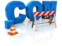 Construction de Web Photographie stock