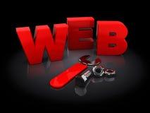 Construction de Web Photographie stock libre de droits