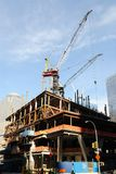 Construction de World Trade Center Photos stock