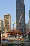 Construction de World Trade Center Images stock