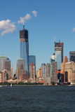 Construction de World Trade Center Photos libres de droits