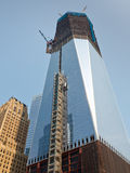 Construction de World Trade Center, New York Photographie stock