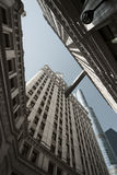 Construction de Wrigley, Chicago Photo libre de droits