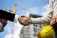 Construction Deal Stock Photography