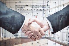 Construction deal concept Stock Photo