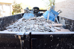Construction Debris Pile Royalty Free Stock Images
