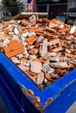 Construction debris at site Stock Photos