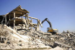 Construction demolition Stock Photography