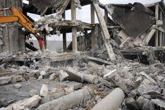 Construction Demolition Royalty Free Stock Image