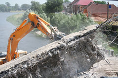Construction and demolition work Stock Photography