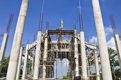 Construction des églises. Photos libres de droits