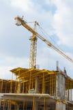 Construction des bâtiments commerciaux Photo stock