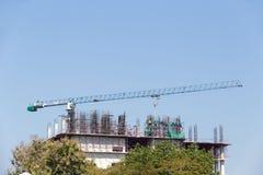 Construction des Bu résidentiels images stock