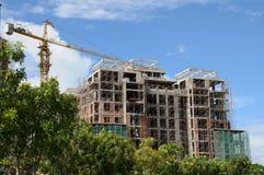 Construction des constructions image stock