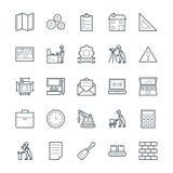 Construction des icônes fraîches 2 de vecteur Photos stock