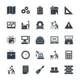 Construction des icônes fraîches 2 de vecteur Images stock