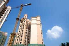 Construction des immeubles image libre de droits