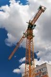 Construction des immeubles neufs Photographie stock libre de droits