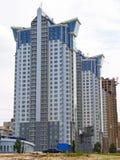 Construction des maisons de luxe neuves Images stock
