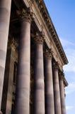 Construction des piliers Photos libres de droits