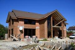 Construction des propriétés privées Photographie stock