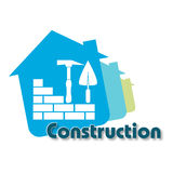 Construction design Royalty Free Stock Image