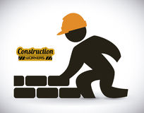 Construction design Royalty Free Stock Images