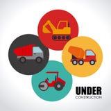 Construction design Stock Photo