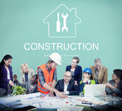 Construction Design Project Renovation Concept stock photography